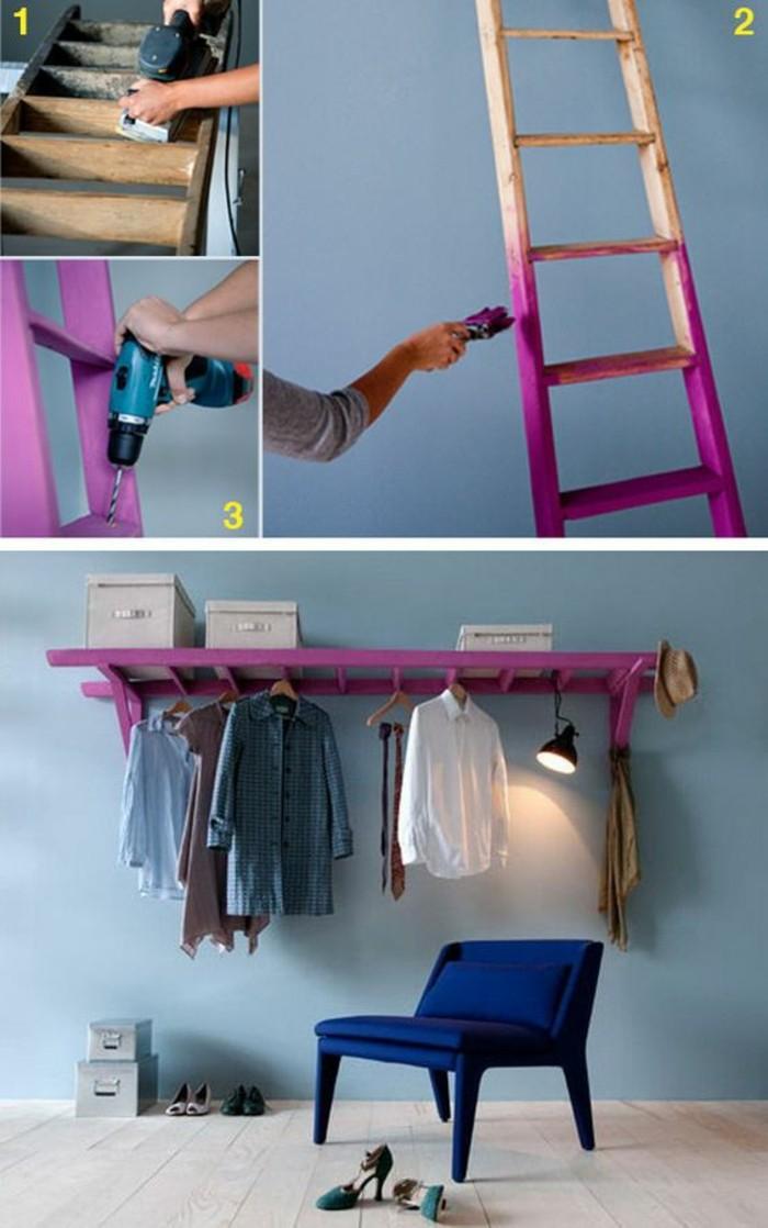 diy-moebel-wohnideen-selber-machen-leider-kleider-blauer-stuhl