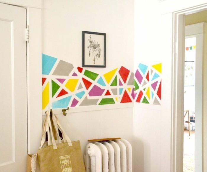 diy-wanddeko-ecken-und-kanten-weiss-verschiedene-farben-wand-dekorativ-faerben