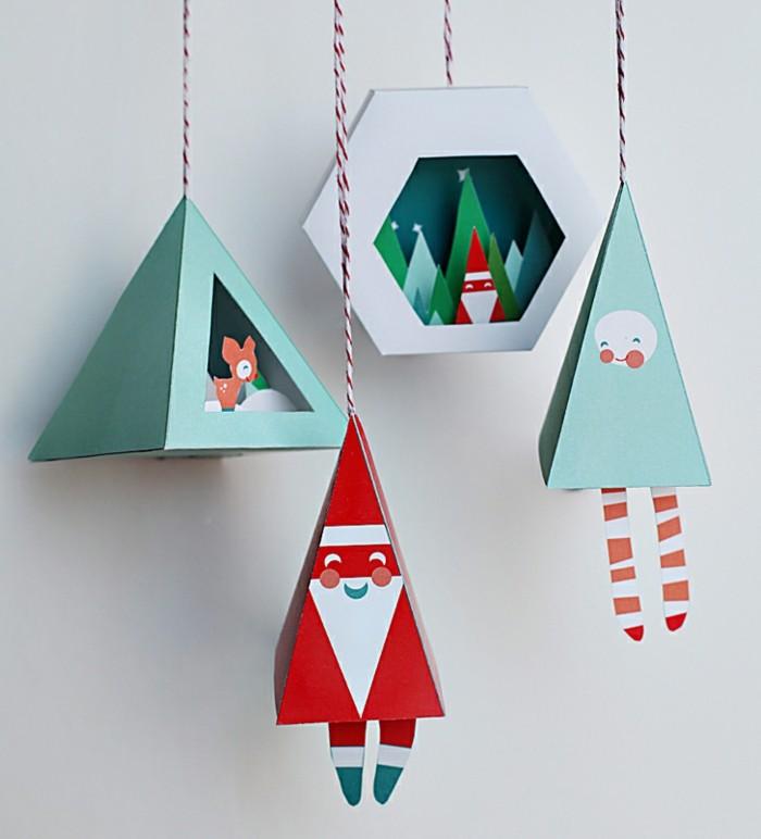 fur-weihnachten-basteln-figuren-aus-papier