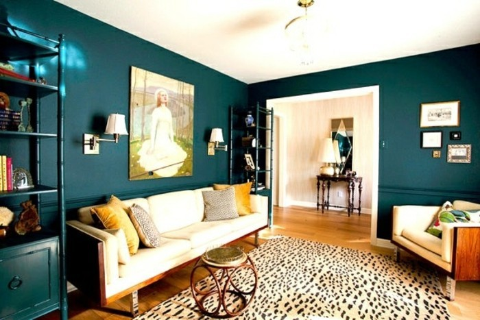 farbgestaltung wohnzimmer interieurgestaltung. Black Bedroom Furniture Sets. Home Design Ideas