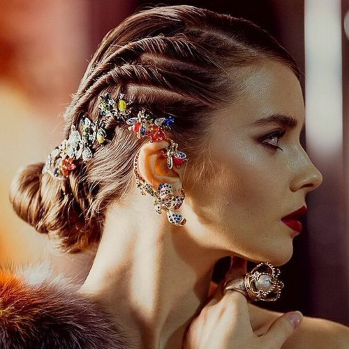 silvester frisuren - 40 ideen für unvergessliche party