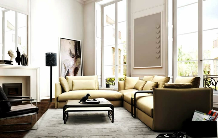 Moderne Möbel für moderne Wohnung: 45 Einrichtungsideen