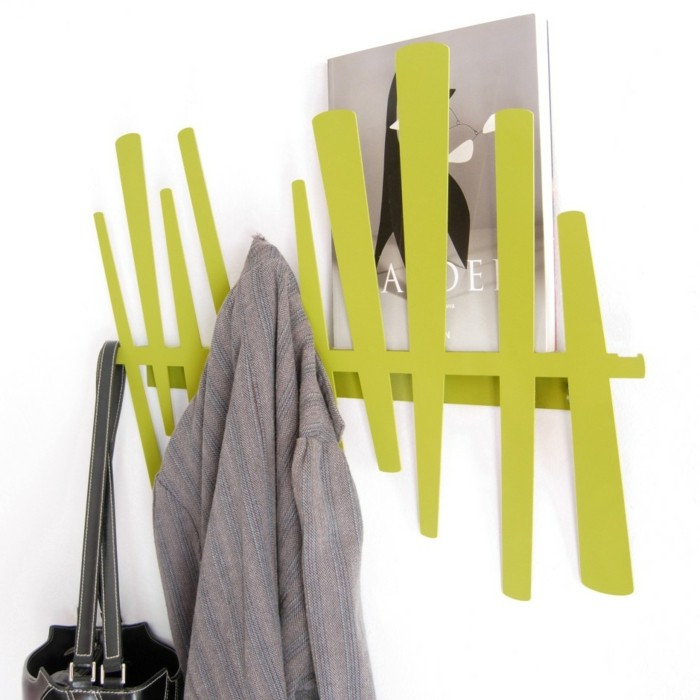 garderobe-gestalten-in-gruner-farbe
