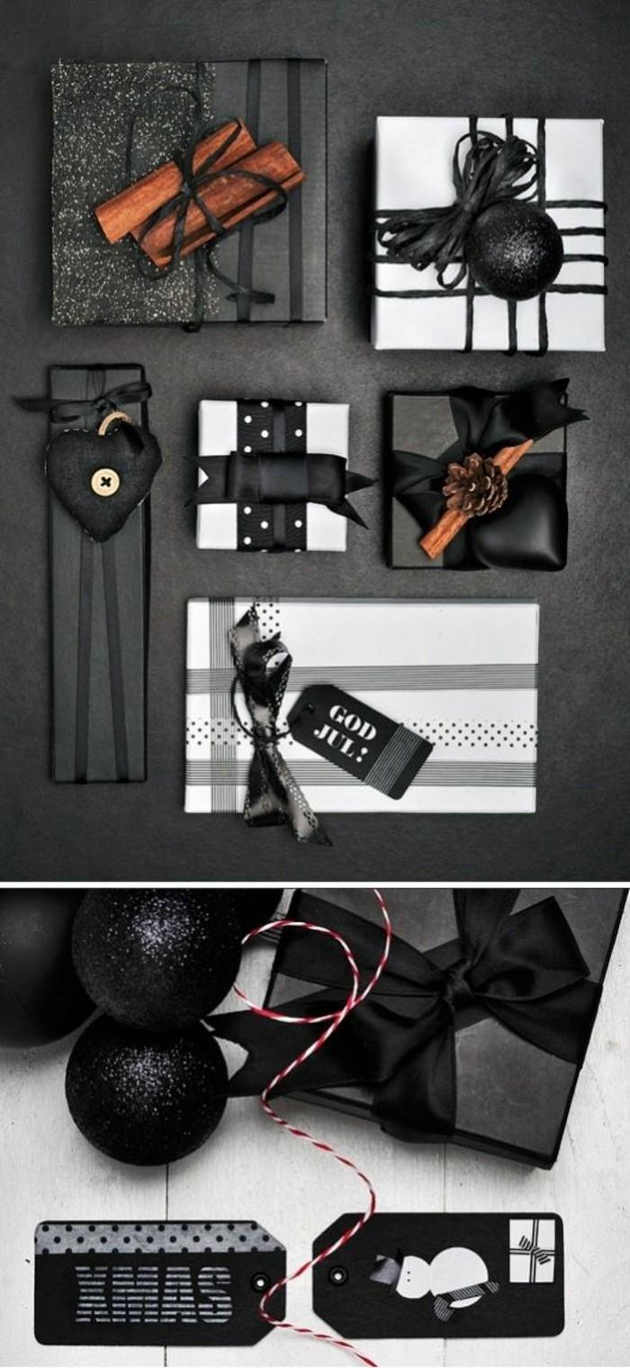 geschenkverpackung-verpackung-basteln-schwaze-geschenkverpackung-schwaze-schleife-zimt
