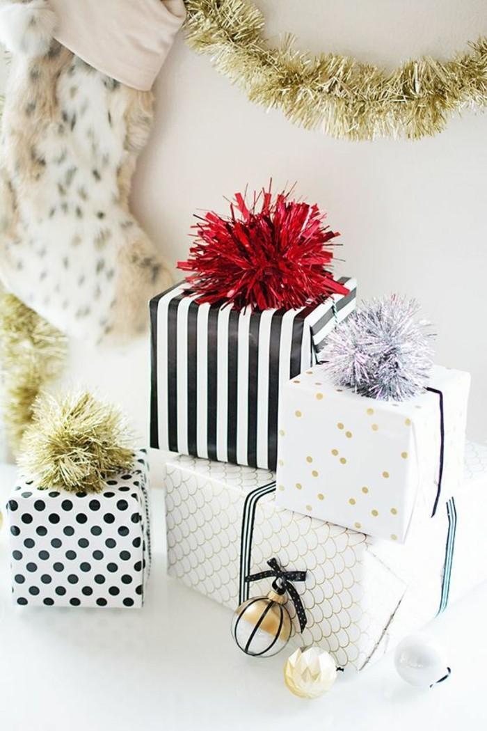 geschenkverpackung-verpackungen-basteln-girlanden-rot-gold-silbern