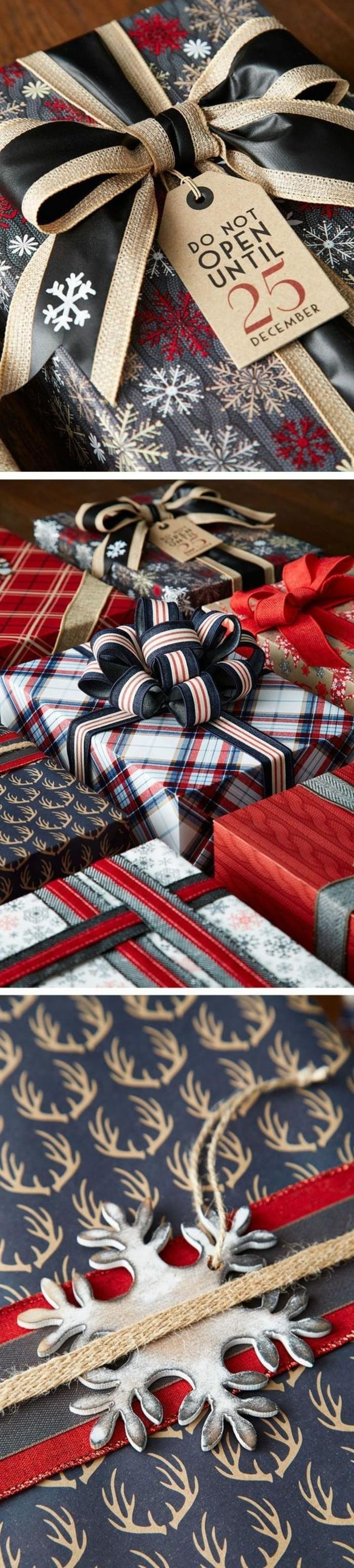 geschenkverpackung-verpackungen-basteln-in-gold-schwarz-rot