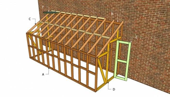 gewachshaus-kleines-gewachshaus-selber-bauen-anbau-an-die-backsteinwand