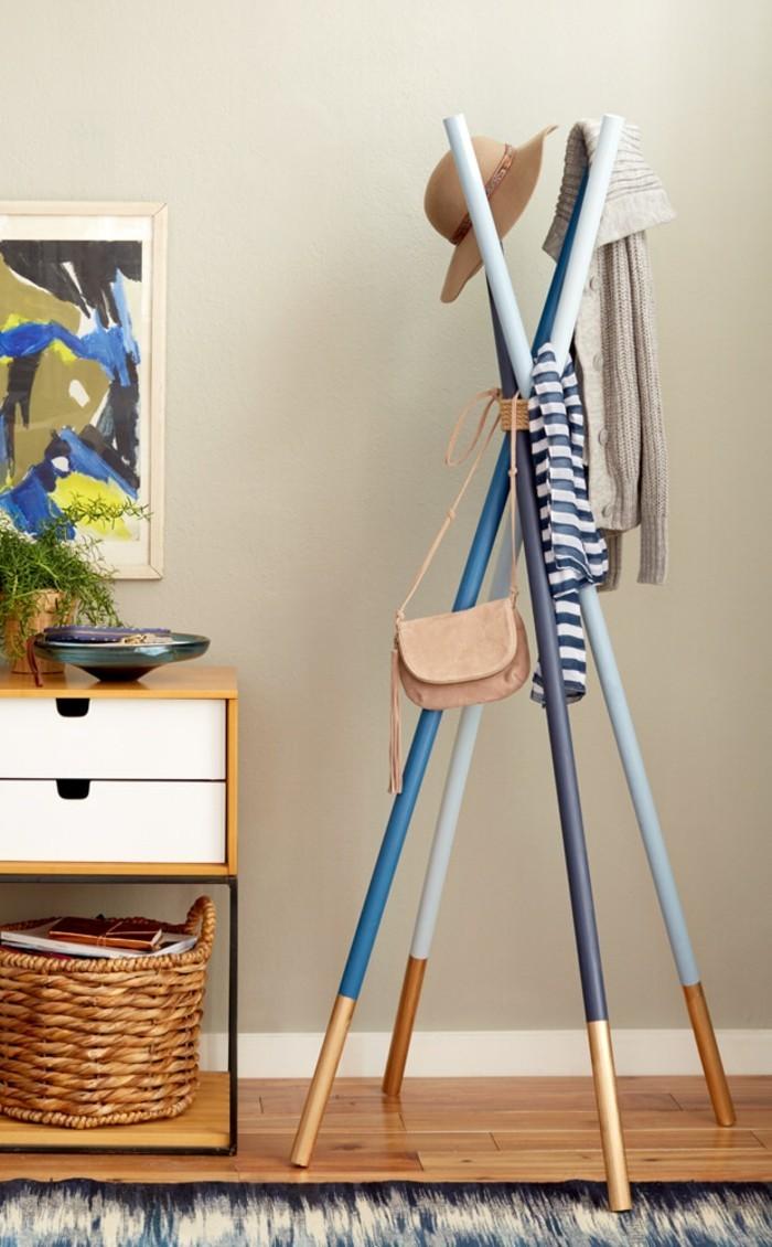 moderne flurmöbel - ausgefallene garderobe ideen - archzine