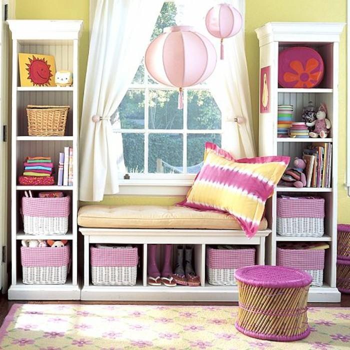 40 Ideen F R Sch Ne Kinderzimmer Fensterdeko