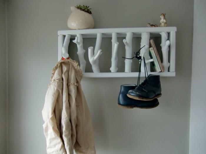 Garderobe Treibholz moderne flurmöbel ausgefallene garderobe ideen archzine