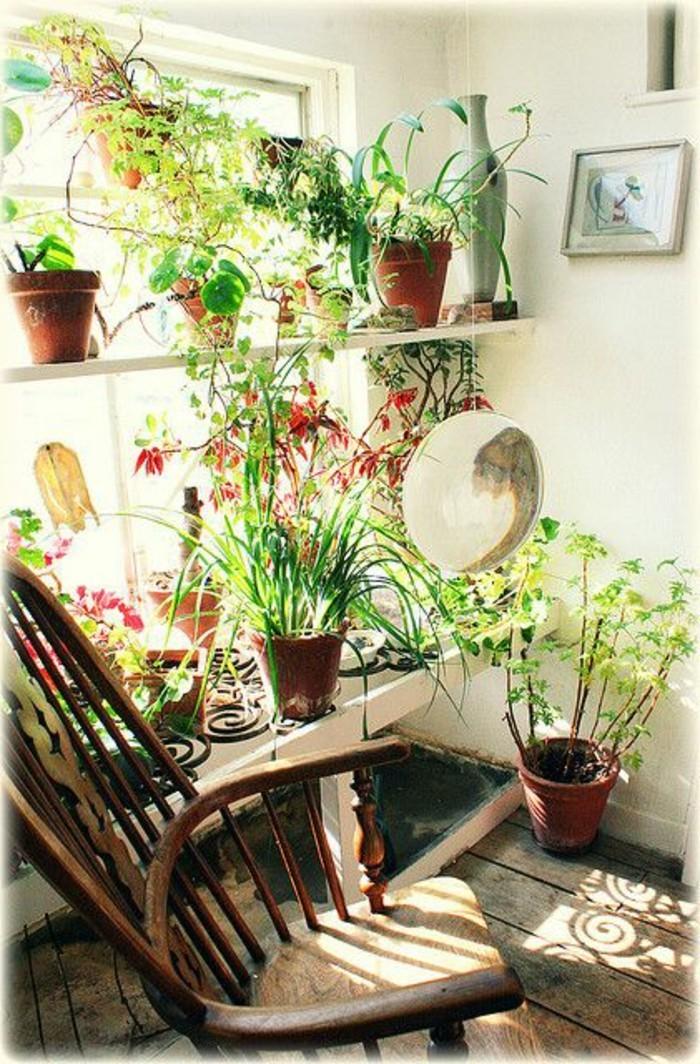 Inspirierende Dekoideen: kleiner Innen-Gartenbereich - Archzine.net