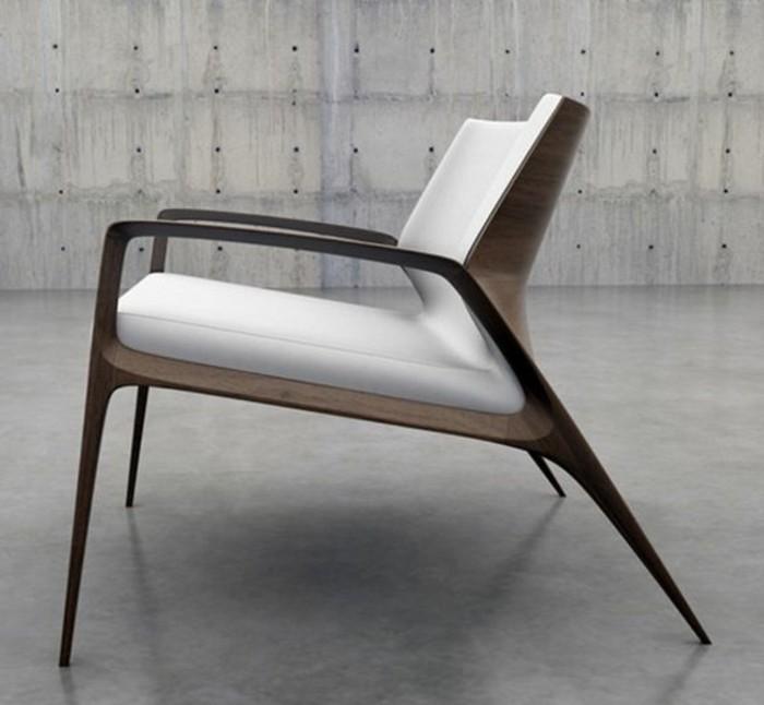 Designermöbel holz  Moderne Möbel für moderne Wohnung: 45 Einrichtungsideen - Archzine.net