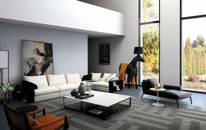 moderne-einrichtung-doenische-moebel-danish-design-moebel-plueschteppich-liegestuhl-leder-kleiner-kaffeetisch