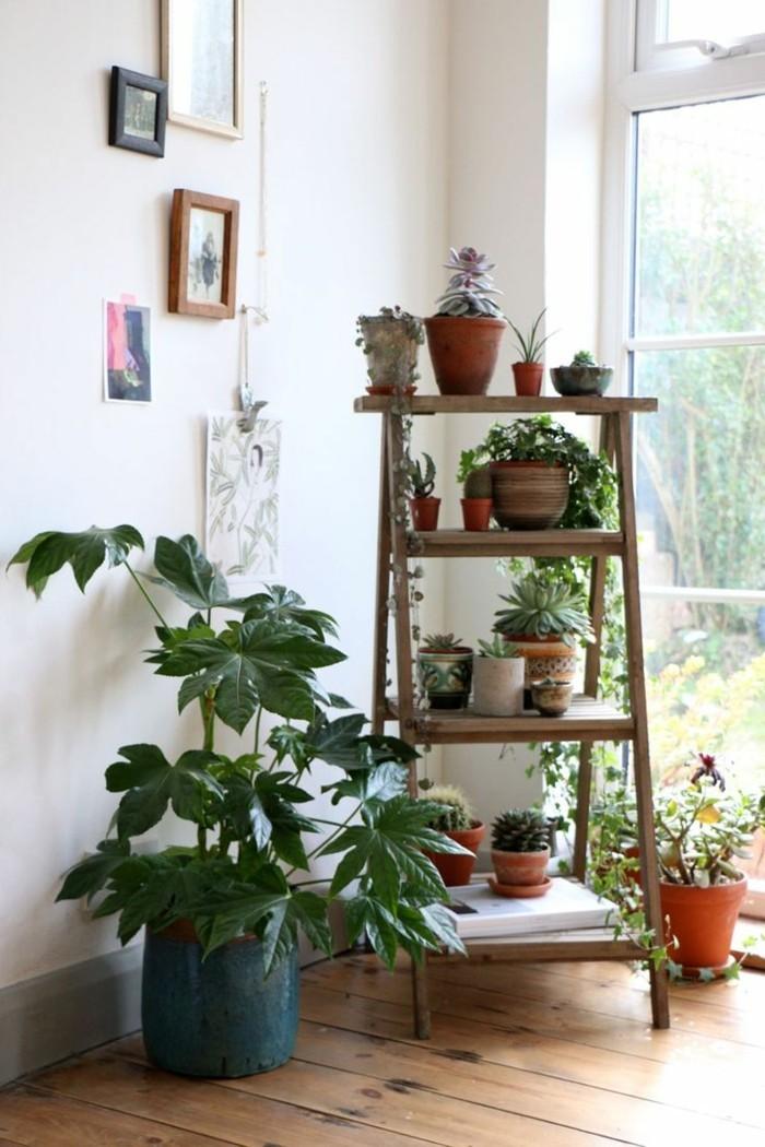 Inspirierende Dekoideen: kleiner Innen-Gartenbereich ...