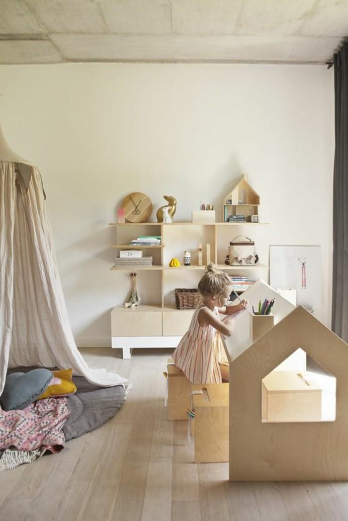 Schöne Kinderzimmer ist der liebste Rückzugsort für Kinder.