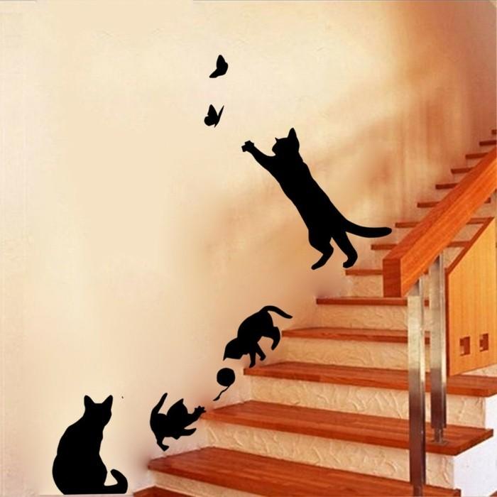 schwarze-katzen-eine-tolle-idee-fuer-ein-wandtattoo-fuer-das-kinderzimmer