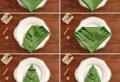 40 bildschöne Ideen, wie Sie Servietten weihnachtlich falten