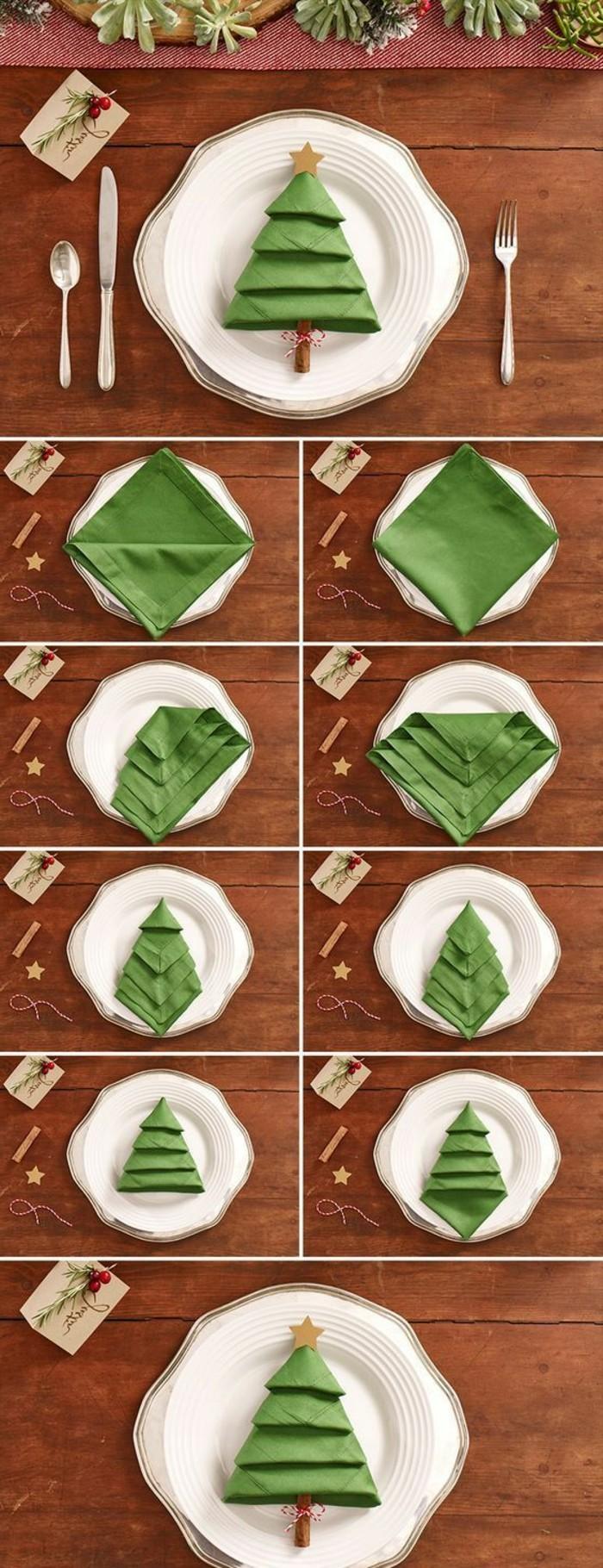 Genial 40 Bildschöne Ideen, Wie Sie Servietten Weihnachtlich Falten