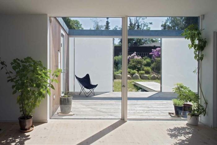 Trennwand Garten Glas ? Marikana.info Pergola Im Garten Ruckzugsort Bluhend