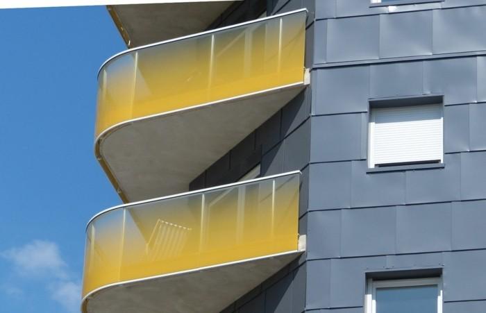 terrassen-sichtschutz-glas-glas-sichtschutz-gelb-digital-print-balkongelander