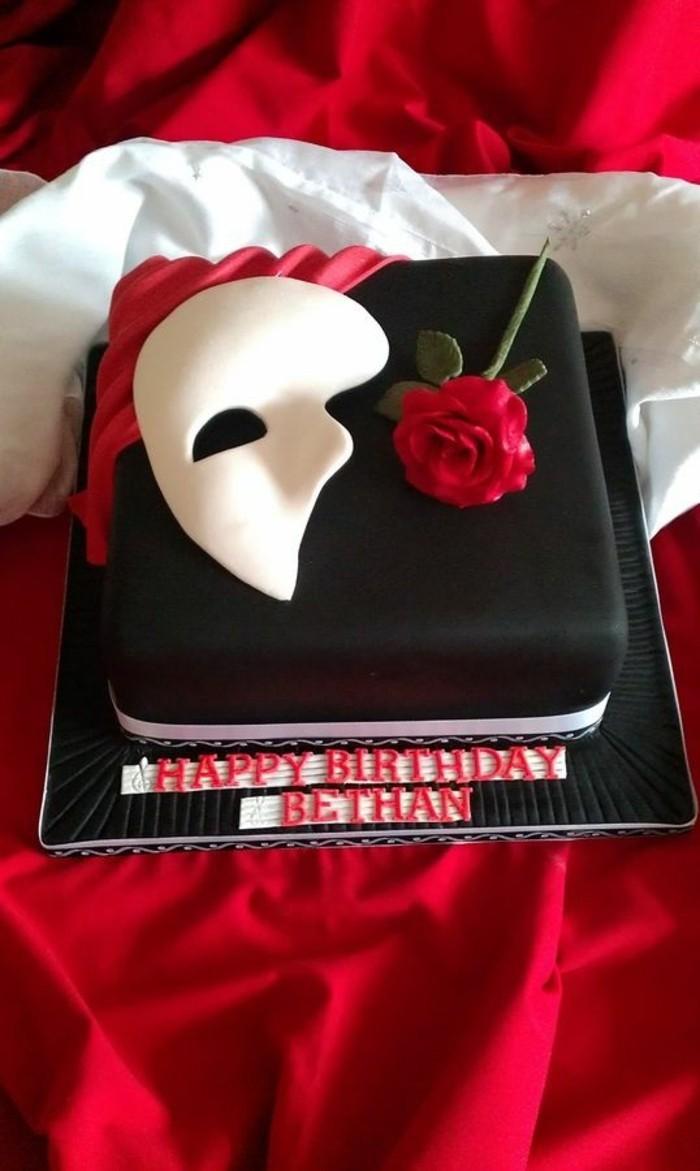 torte-zum-18-geburtstag-geburtstagstorten-torte-fuer-schauspieler-maske-rose-rot-weiss-schwarz