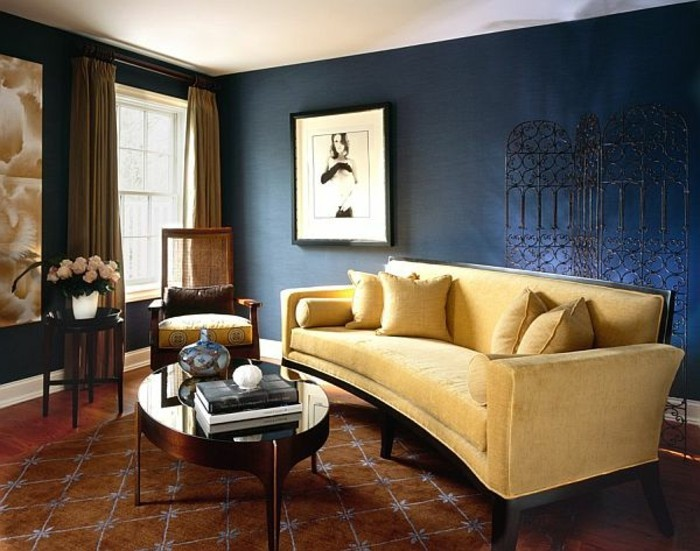 Farbige W Nde Im Schlafzimmer farbgestaltung wohnzimmer interieurgestaltung archzine