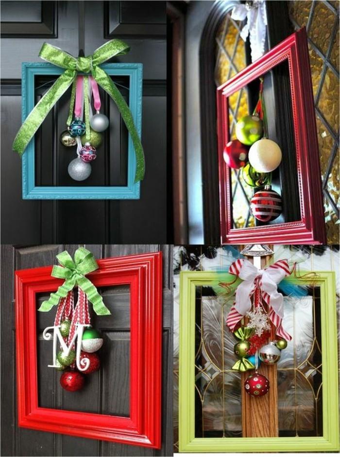 weihnachtskranz-basteln-aus-bilderrahmen-und-weihnachtskugeln