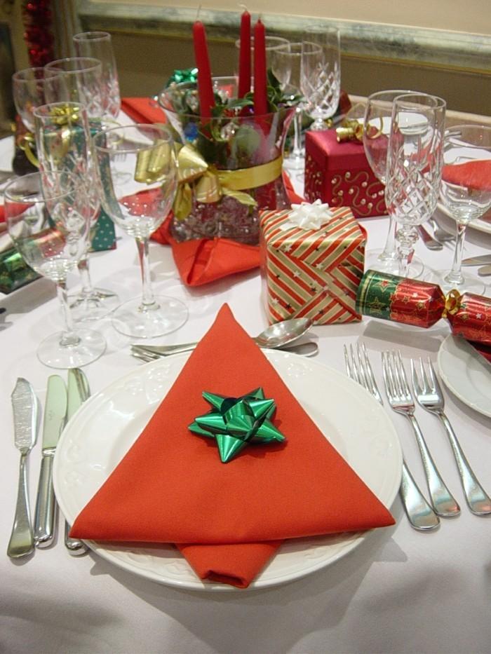 Weihnachtsservietten Falten Servietten Falten Weihnachten