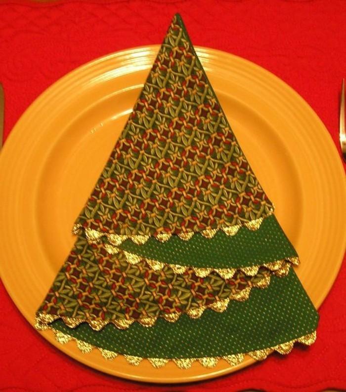 40 bildsch ne ideen wie sie servietten weihnachtlich falten