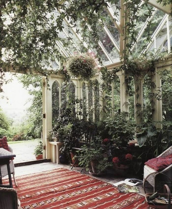 Pflanzen Dekoration Wohnzimmer Deko Ecke Haus Design Ideen