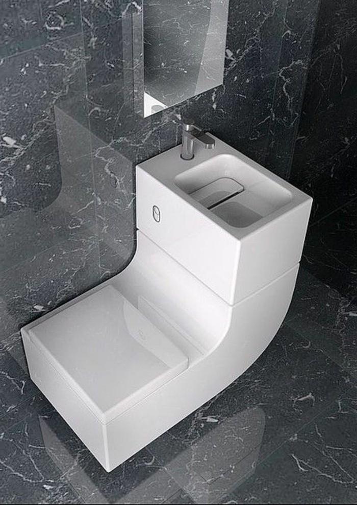 Wohnung Einrichten Ideen Badezimmer In Grau Und Weiss