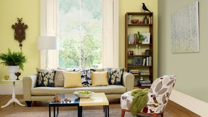 Farbgestaltung Wohnzimmer U2013 Interieurgestaltung ...