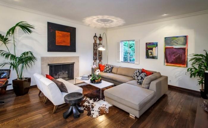 farbgestaltung wohnzimmer schwarz weis