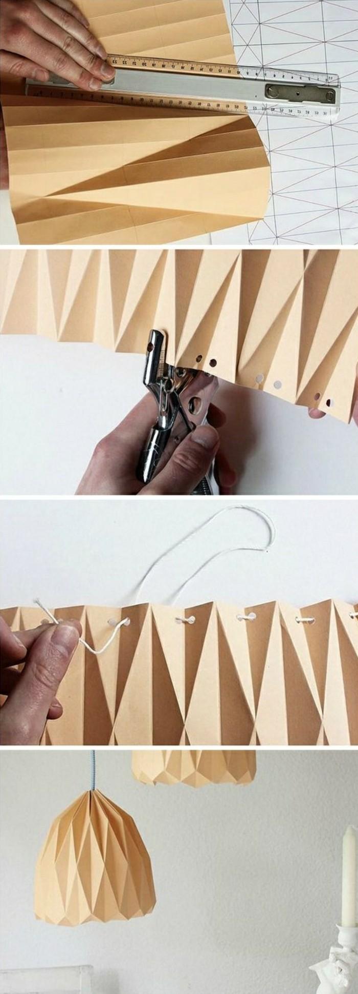 10-lampenschirm-papier-origami-selber-machen-weise-kerze