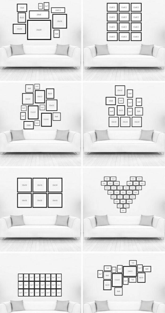 11-fotocollage-selber-machen-weiser-sofa-graue-dekokissen-weiser-boden