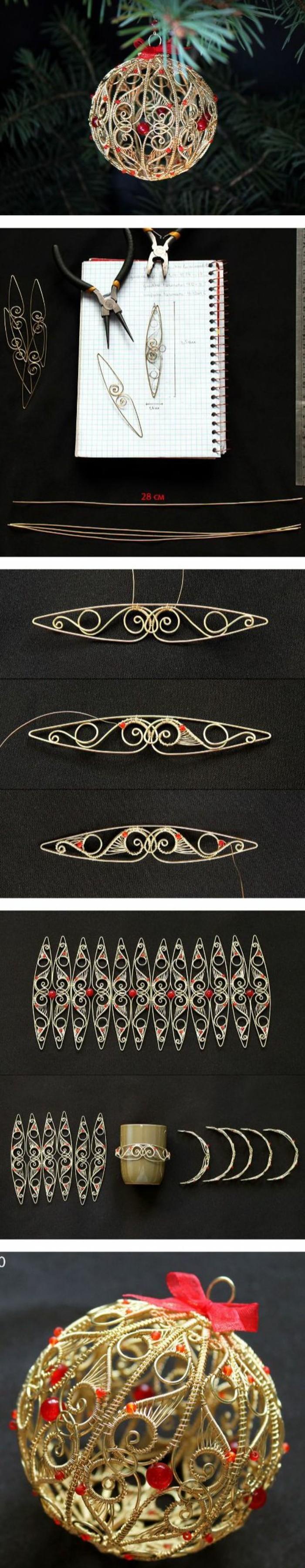 111-weihnachtsbasteileien-weihnachtskugel-aus-goldenen-ornamenren-gestalten