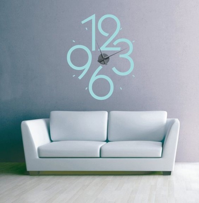 55 kreative ideen f r tolles modernes wanduhr design - Design wanduhr ...