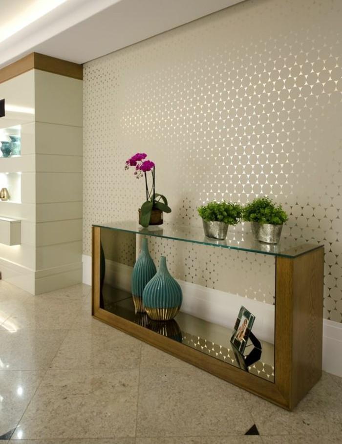 17-schone-tapeten-tisch-grune-pflanzen-rosa-blume-foto-fliesen-vasen