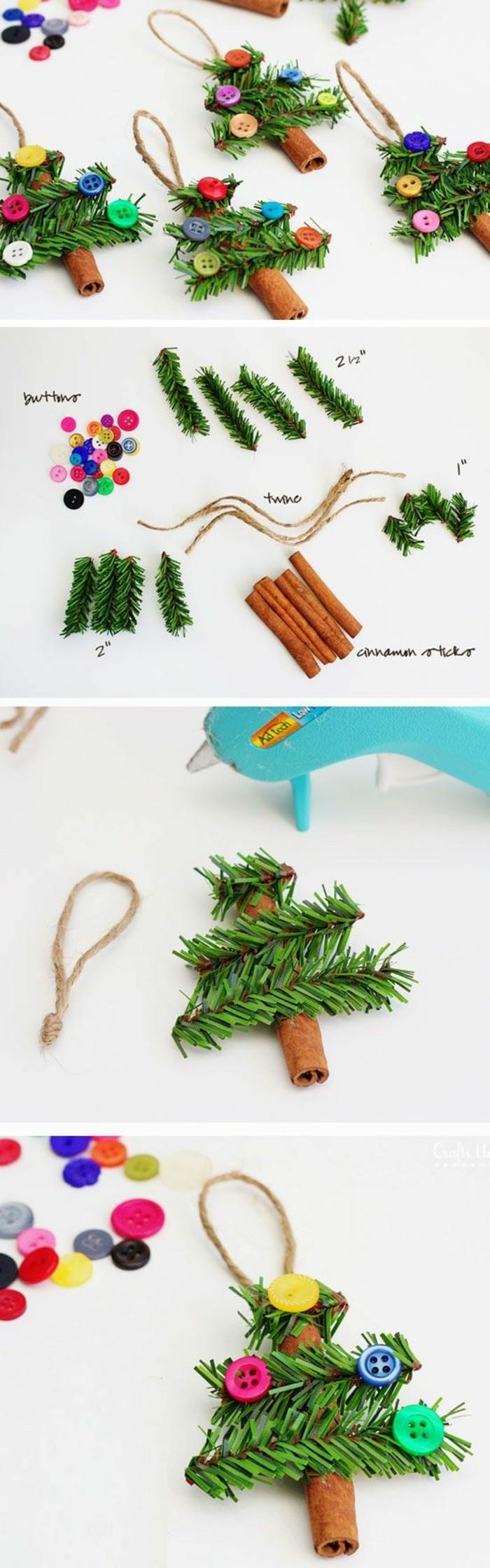 18-tannenbaum-basteln-grunen-zweigen-zimt-faden-bunte-knopfe-weihnachten