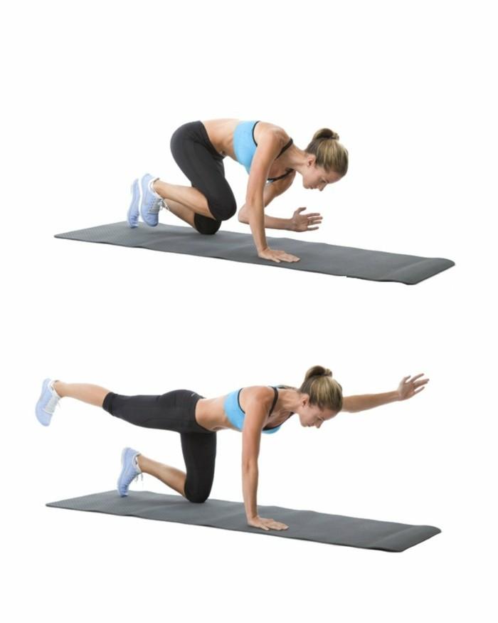27uebungen-po-oberschenkel-trainieren-rechtes-bein-linke-arm