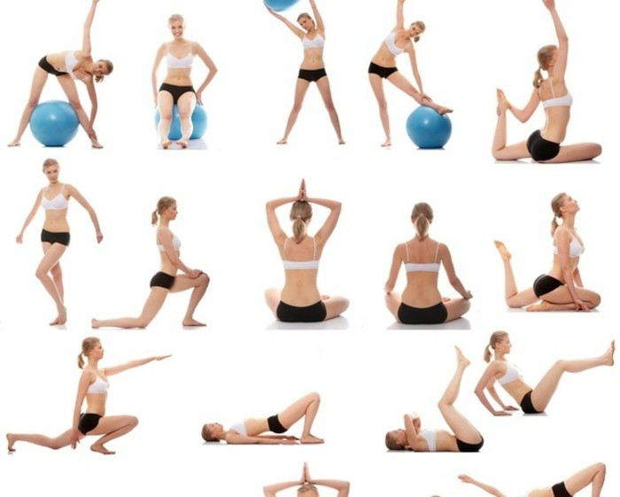Körperliche Übungen zum Abnehmen zu Hause