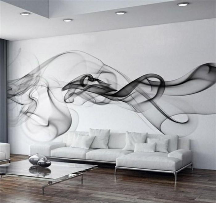 Tapeten Ideen für eine ausgefallene Wandgestaltung