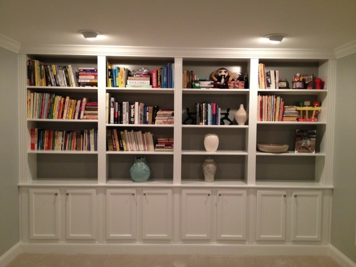 b cherregal ideen ber 60 inspirationen f r ihr zuhause. Black Bedroom Furniture Sets. Home Design Ideas
