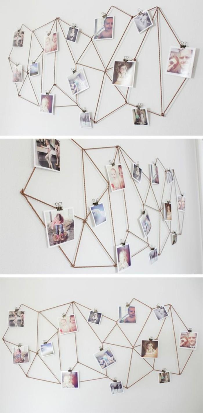 diy-ideen-weisse-wand-mit-fotos-dekorieren-seile