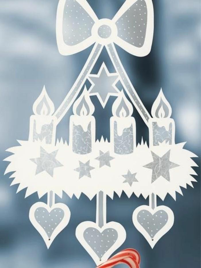 Feine fensterbilder zu weihnachten und winterzeit - Weihnachts fensterbilder basteln ...