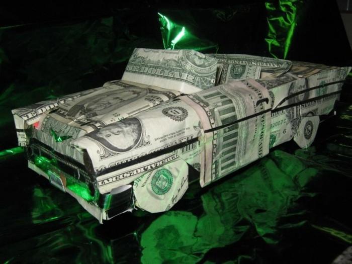 auto geldgeschenk