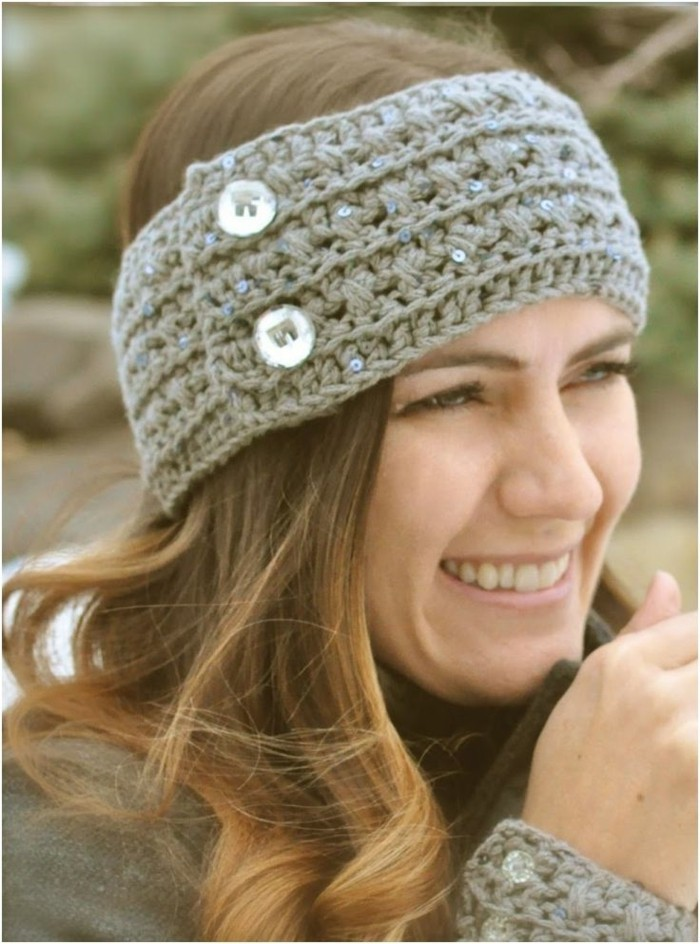 haarband-selber-naehen-graue-farbe-silberne-knopfen