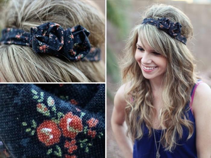 stirnband-naehen-fuer-blondes-maedchen-mit-rosen-in-detail