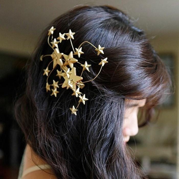stirnband-selber-naehen-mit-goldenen-sterne