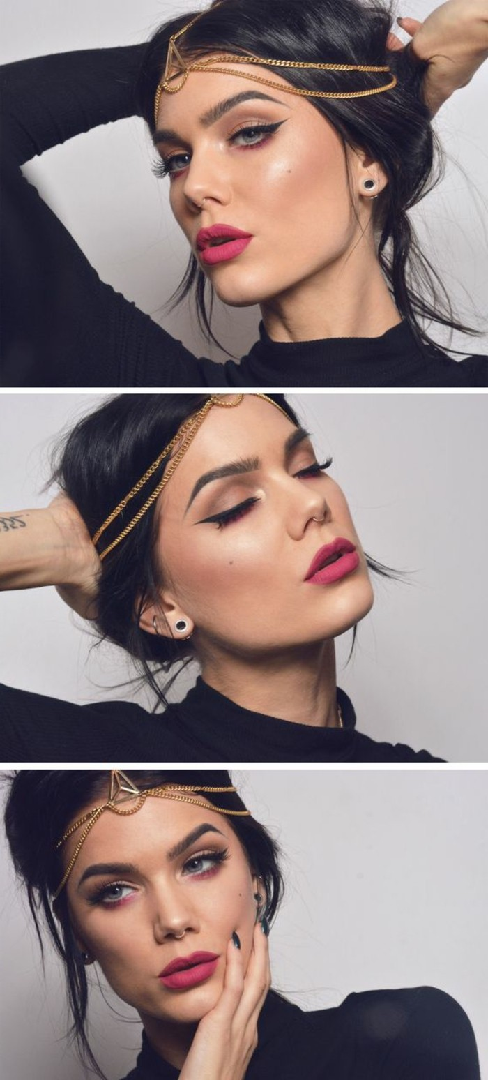 abend-make-up-schminke-und-schmuck-haarschmuck-golden-rosa-lippen-zyklam